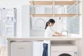 Ngôi nhà vỏn vẹn 30m² vẫn có đủ nhà bếp, phòng ăn, phòng tắm với lối thiết kế vô cùng thông minh