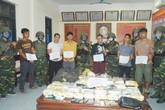 Dùng vũ khí nóng vận chuyển số lượng lớn ma túy từ Lào về Việt Nam