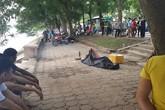Hà Nội: Đang đi thể dục, tá hỏa phát hiện thi thể nổi trên hồ