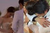 """Đám cưới Đông Nhi - Ông Cao Thắng: Ngô Thanh Vân bất đắc dĩ nhận hoa của cô dâu, Trúc Nhân được """"câu like"""" bất chấp"""