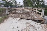 Thanh Hóa: Cầu gãy sập, hàng nghìn học sinh phải đi đường vòng nguy hiểm