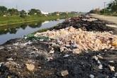 Khói đốt vải khét lẹt đầu độc dân làng vải vụn ở ngoại thành Hà Nội