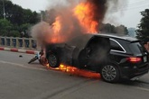 Hà Nội: Lộ diện nữ tài xế Mercedes liên quan đến vụ tai nạn nghiêm trọng làm 1 người chết thảm tại cầu Trung Hoà
