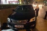 Xe của Liên đoàn Bóng đá Việt Nam gây tai nạn rồi bỏ chạy