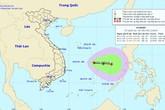 Áp thấp nhiệt đới đang mạnh lên, Biển Đông sắp hứng bão to