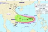 Diễn biến về cường độ thất thường của bão số 6 sắp đổ bộ vào đất liền