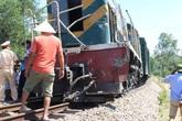Xác minh nguyên nhân 2 công nhân đường sắt thương vong sau va chạm với tàu hỏa ở Nam Định