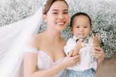 Con trai góp mặt trong ảnh cưới Giang Hồng Ngọc