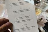 """Thực đơn đắt """"khủng khiếp"""" trong đám cưới của Ông Cao Thắng và Đông Nhi"""