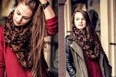 5 mẫu khăn quàng cổ đang thịnh hành và cách mix giúp bạn khỏe mạnh, sành điệu, dễ thương hơn trong mùa đông