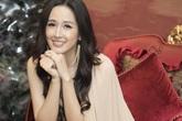 Hoa hậu Mai Phương Thúy mặc kín mít sau sự cố lộ ngực trên sóng truyền hình