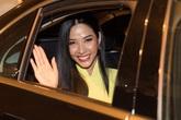 Nửa đêm Hoa hậu Khánh Vân ra sân bay đón Hoàng Thùy