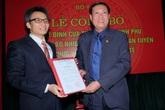 Phó Thủ tướng Vũ Đức Đam trao quyết định bổ nhiệm Thứ trưởng Bộ Y tế cho ông Đỗ Xuân Tuyên
