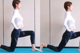 Chỉ ngồi hay nằm cũng tác động trực tiếp vào vòng bụng, 2 tuần sau cơ bụng bắt đầu lộ dần, bắp đùi thon gọn thấy rõ