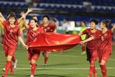 """Số tiền thưởng """"kỷ lục"""" tuyển nữ Việt Nam được nhận sau khi giành HCV SEA Games 30"""