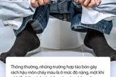 Trường hợp bệnh nhân tự dùng vòi hoa sen xịt rửa do bị táo bón dẫn đến rách hậu môn: Bác sĩ đưa ra lời cảnh báo mà bất kì ai cũng không nên bỏ qua