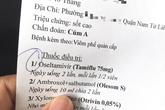 1 triệu đồng 10 viên thuốc Tamiflu, bác sĩ nói gì?