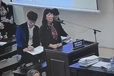 Vợ cựu Bộ trưởng Trương Minh Tuấn nghẹn ngào xin giảm tội cho chồng