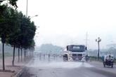 Vì sao lâu không thấy... xe rửa đường trên phố Hà Nội?