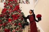 """Chọn đúng dịp Noel để khoe biệt thự ở Mỹ, Hoa hậu Phạm Hương khiến dân tình chỉ biết tròn mắt mà thốt lên """"Giàu quá!"""""""