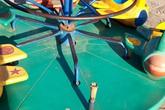 """Hà Nội: Những """"bẫy"""" trò chơi nguy hiểm ở sân trường, khu vui chơi trẻ em"""