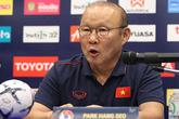 HLV Park Hang-seo tiết lộ tình hình sức khỏe của Quang Hải sau trận hòa U22 Thái Lan