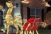 Chi hơn 100 triệu đồng trang trí biệt thự đón Giáng sinh, chỉ giàu có như Quách Thành Danh mới dám