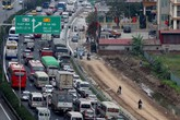 Hà Nội: Cao tốc tắc dài, dân băng ruộng về nhà sau kỳ nghỉ Tết
