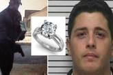 Bi hài ngày Valentine: Cướp ngân hàng nơi bạn gái làm việc để có tiền mua nhẫn đính hôn