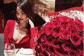Lan Khuê khoe Valentine sang chảnh đầu tiên sau đám cưới nhưng netizen chỉ chú ý tới vòng 2 lùm lùm