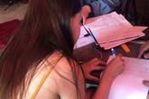 Bắt quả tang nữ tiếp viên kích dục cho khách ở chòi lá trong quán cà phê