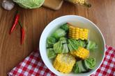 Canh cải thảo cuộn thịt ngọt thanh, bổ dưỡng cho cả gia đình