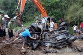 Tìm thấy ô tô chở 2 cán bộ biên phòng Thanh Hóa bị lũ cuốn trôi từ năm 2017