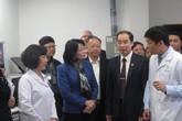 Phó Chủ tịch nước thăm thầy thuốc Bệnh viện Xanh Pôn