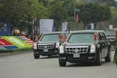 Tổng thống Trump đã rời khách sạn để gặp gỡ Tổng Bí thư, Chủ tịch nước Nguyễn Phú Trọng