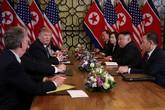 Hủy ăn trưa cùng nhau và câu trả lời của 2 ông Kim - Trump với báo chí sau phiên làm việc sáng nay