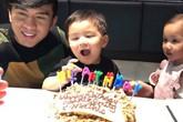 Vợ chồng Đan Trường mừng sinh nhật 2 tuổi của con trai