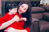 Trở lại sau ồn ào bị chỉ trích trên mạng xã hội, Đặng Thu Thảo khoe ảnh hai mẹ con cực kỳ xinh đẹp