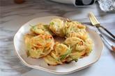 Lót dạ xế chiều với món bánh khoai tây chiên làm cực dễ
