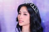 Hoàng Thuỳ mắt đỏ hoe, tóc rối bời bật khóc, fan xót xa: Là ứng cử viên cho Miss Universe 2019 thật sự quá áp lực?