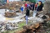 Nghệ An: Hai người thương vong vì bức tường cao 3 m đổ sập
