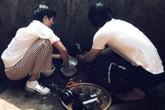 Hoa hậu H'Hen Niê nấu nướng, rửa bát khi về thăm nhà ở Đắk Lắk