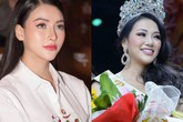 Mũi dài bất thường, Hoa hậu Phương Khánh bị nghi phẫu thuật thẩm mỹ