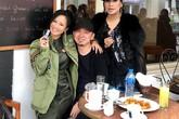 """Có mặt Thanh Lam, Hồng Nhung vẫn vô tư ngồi lên đùi và ôm Quốc Trung, tin đồn 17 năm trước bất ngờ bị """"đào mộ"""""""