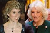 Bà Camilla bị chỉ trích vì đeo trang sức của Công nương Diana