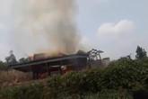 Nghệ An: Cháy trụi nhà sàn khiến 1 người chết