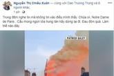NSƯT Chiều Xuân, Hồ Ngọc Hà và nhiều sao Việt đau xót cảnh tượng nhà thờ Đức Bà bị phá hủy kinh hoàng