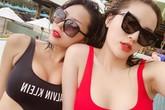 Lộ ảnh Hoa hậu Kỳ Duyên, Minh Triệu quấn quýt không rời dù phủ nhận yêu đồng tính