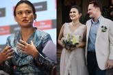 """Vợ mới cưới của chồng cũ Hồng Nhung có lý lịch và gia thế """"khủng"""" thế nào?"""