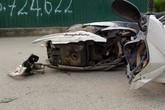 Vụ tai nạn liên hoàn tại cầu vượt Mai Dịch: Nữ tài xế sinh năm 1980 rú ga vượt đèn đỏ